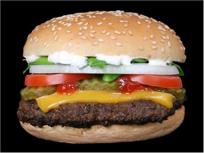 Picture Of Burger Fully Loaded