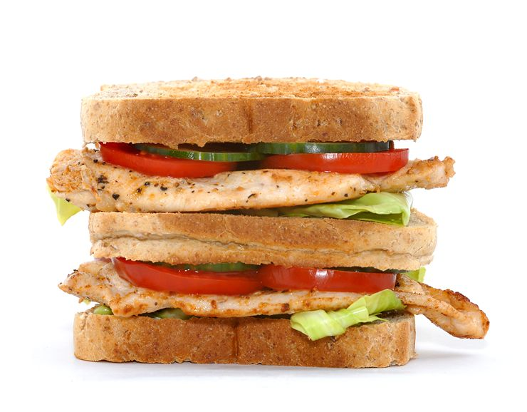 Picture Of Club Sandwich With Chicken