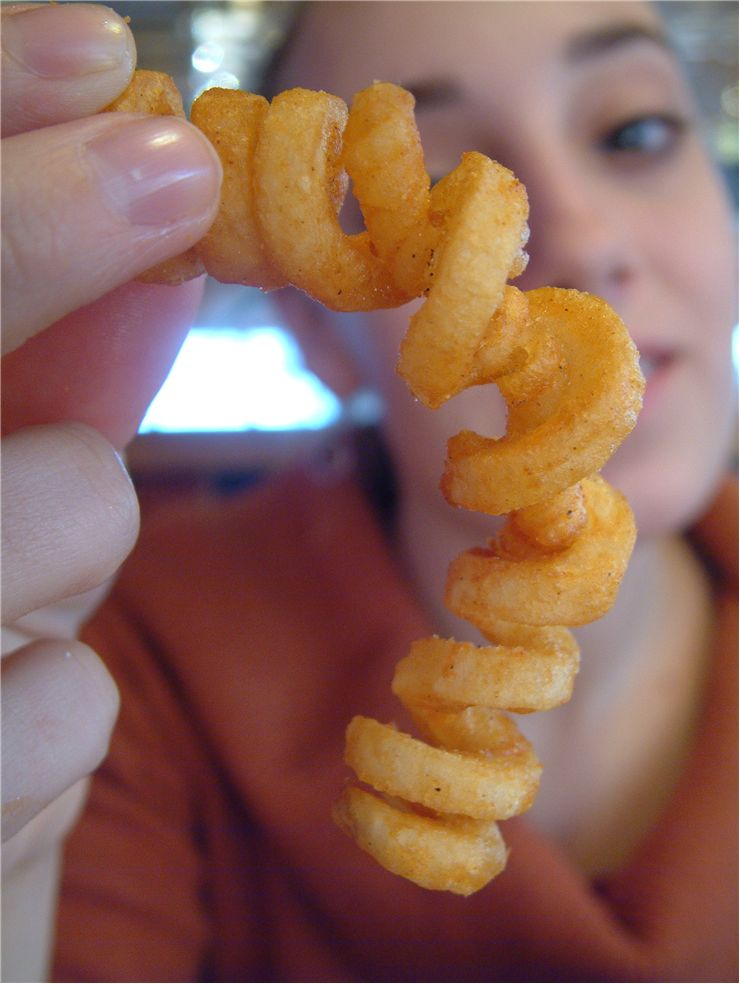 Picture Of Curly Fry