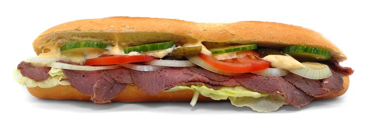 Picture Of Delicious Sandwich
