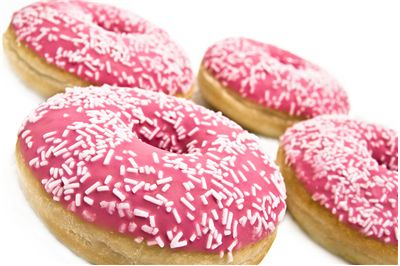 Picture Of Donuts With Crumbles