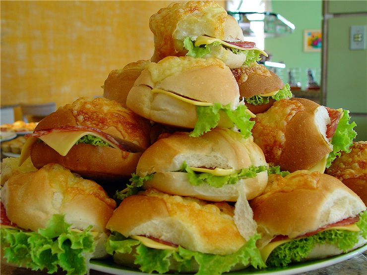 Picture Of Fast Food Sandwiches