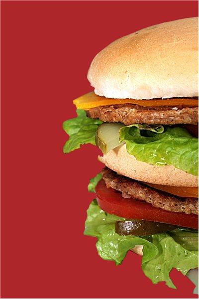 Picture Of Hamburger Fast Food