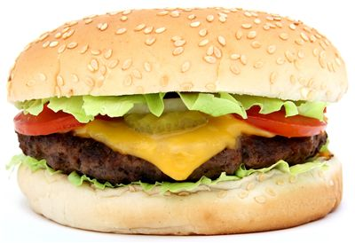 Picture Of Hamburger Junk Food