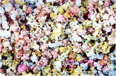 Picture Of Multi Color Popcorn