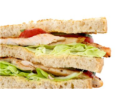 Picture Of Sandwich With Chicken