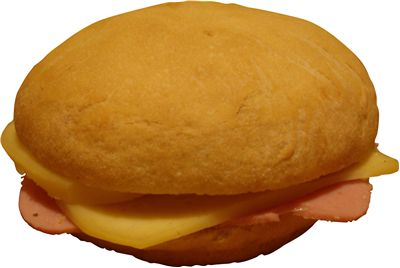 Picture Of Simple Cheese Sandwich Food