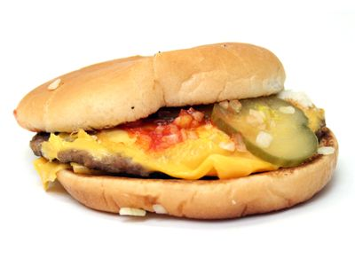 Picture Of Type Of Cheeseburger